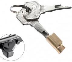Schlüssel für Anhängerkupplungen